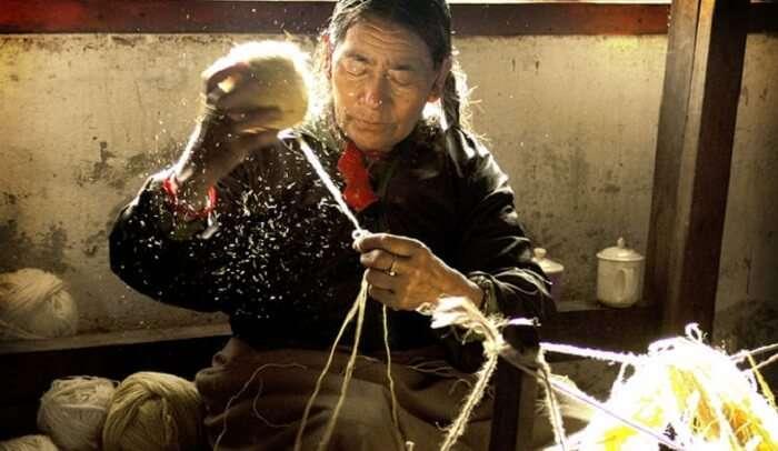 traditional Sikkimese handicraft
