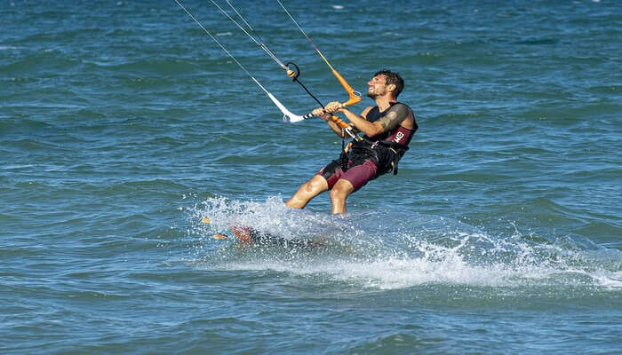Kite Surfing In Chile