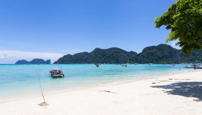 view of ko phi pho don island