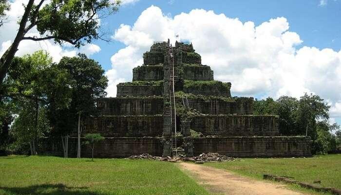 Koh Ker In Cambodia