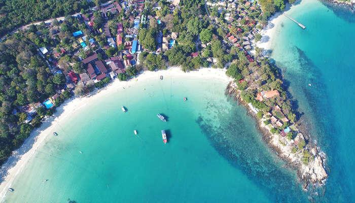 View of koh samet beach