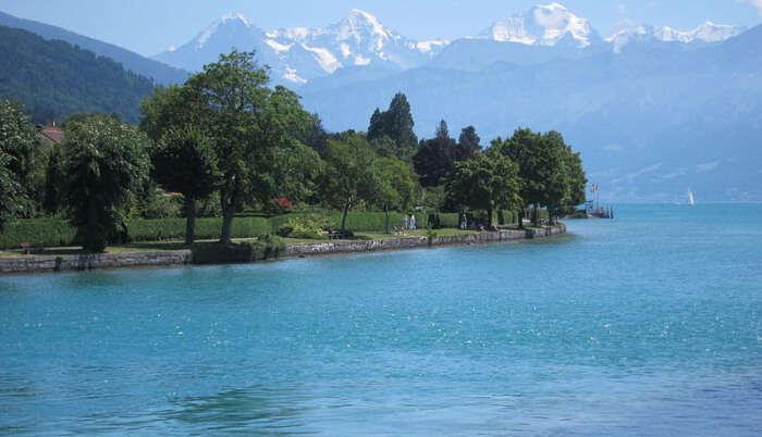 Beautiful Lake in Interlaken