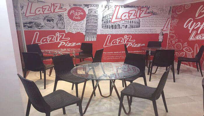 Laziz Pizza Interior View