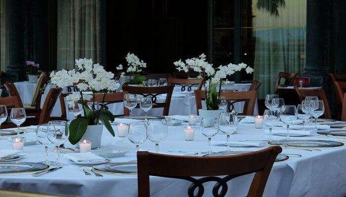 Table Celebration Romantic Board Dinner Cover