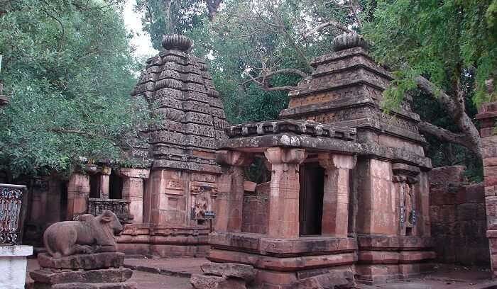 Mahakuteshwara Temple is dedicated to the Shaiva Culture