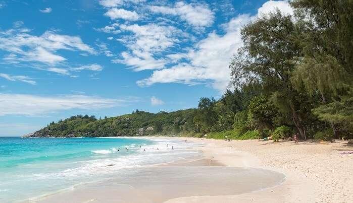 Beach Anse Intendance Mahe