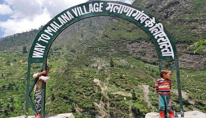 Malana Village Trek View