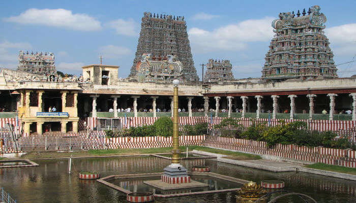 Meenakshi Temple View