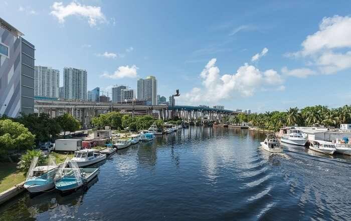 River in Miami, Florida