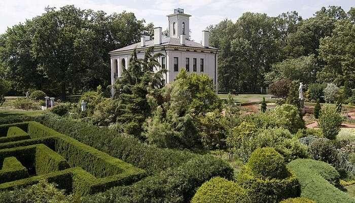 Botanical Garden In Missouri