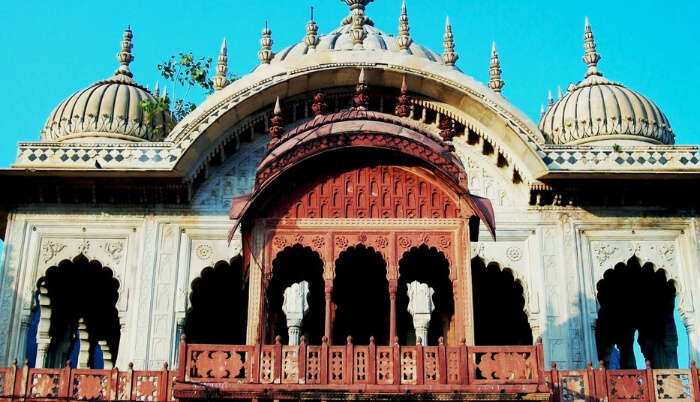 View Of MoosiMaharaniki chhatri