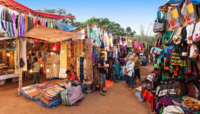 Market in Munnar