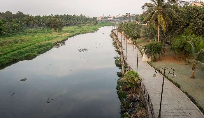 it is a tributary to the mightier river of Krishna