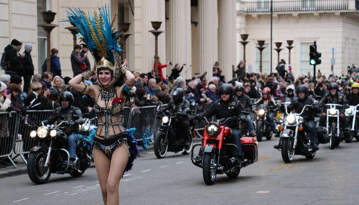 NYE carnival london