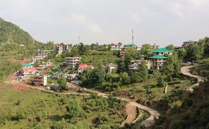 Naddi Village View
