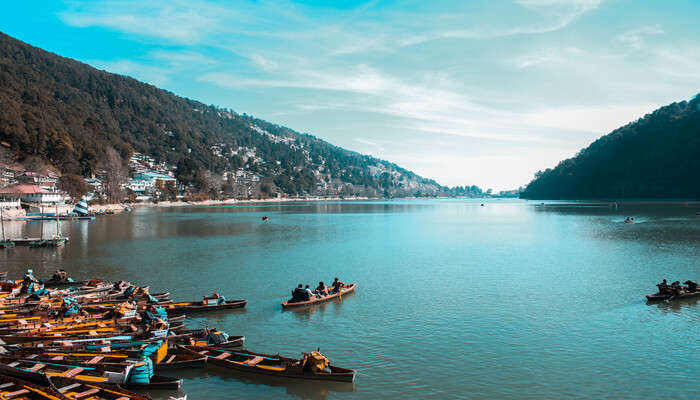 Calm place in Nainital