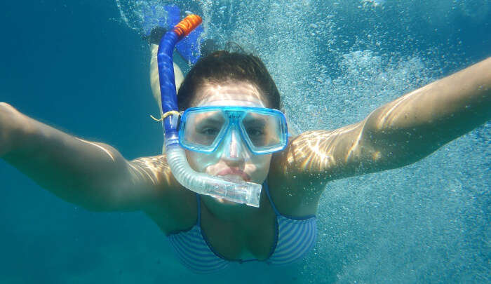 Crazy Snorkeeling in Naithon Beach