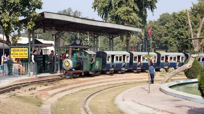 Enjoy A Toy Train Ride