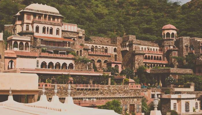 View of Neemrana Fort