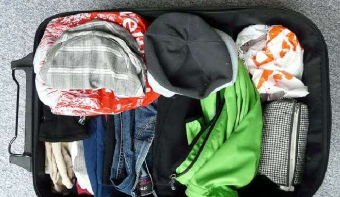 must pack for trip