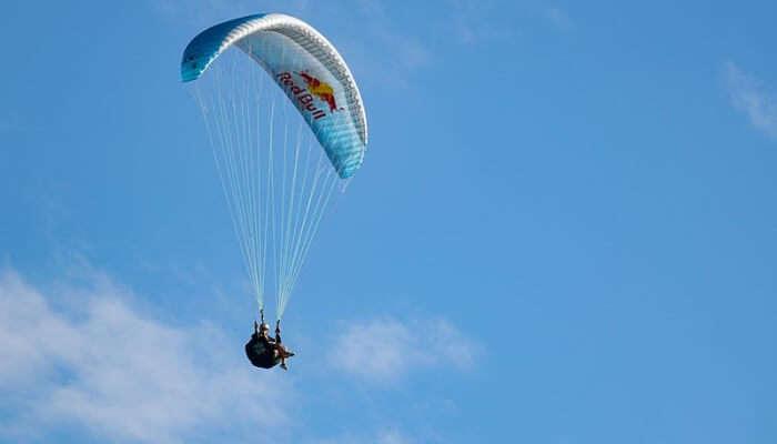 Paragliding In Sky