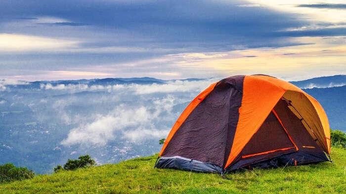 Camping in Pahalgam