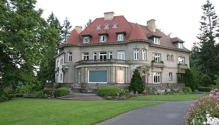 Pittock Mansion In Portland