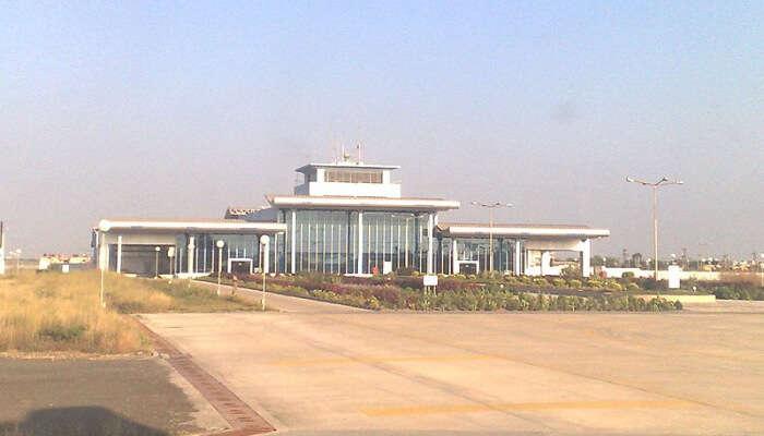 Airport in Porbandar