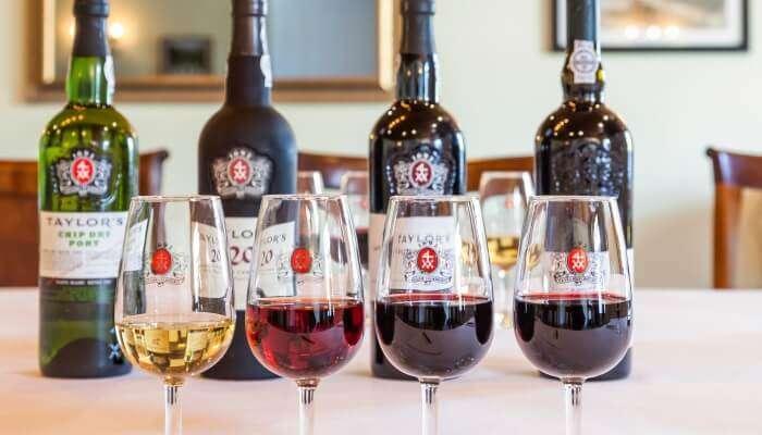 Portuguese Brought Port Wine
