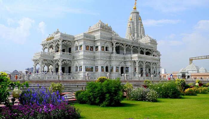 Spiritual Place in Vrindawan