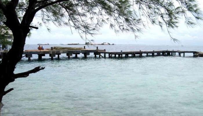 Pulau Pramuka Near Jakarta