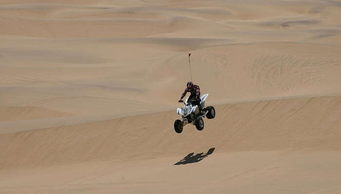 Adventure activity in jaisalmer