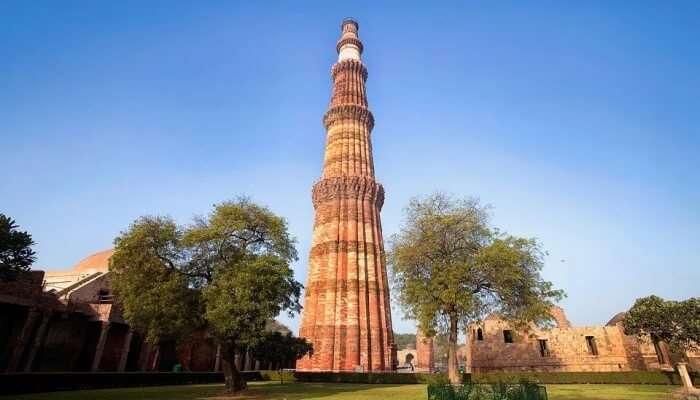 Qutub Minar In Delhi