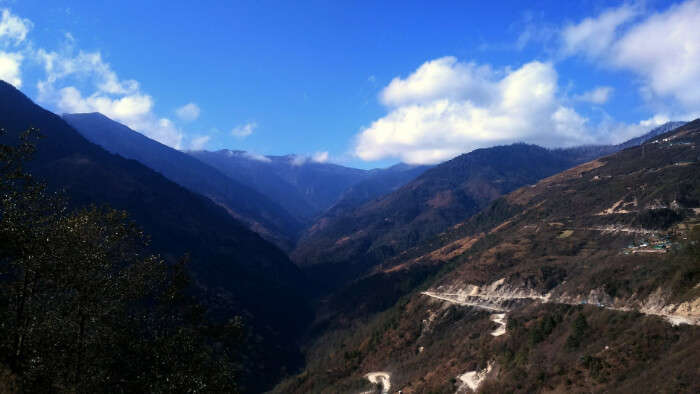 Hills View in Bomdila
