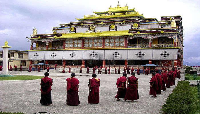 Ralang Monastery In Namchi