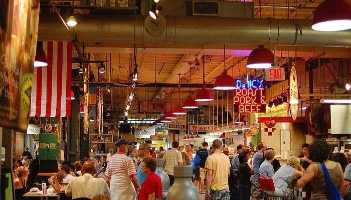 Reading Market Terminal In Philadelphia