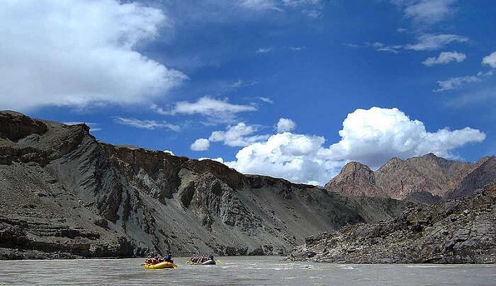 River Boating in Leh-Ladakh