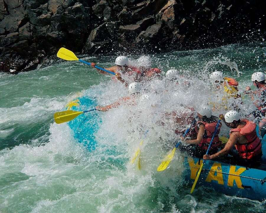 rafting view