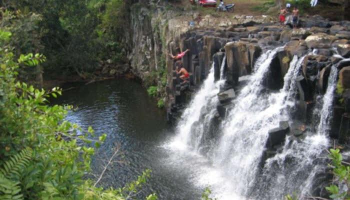Stunning view of Waterfall