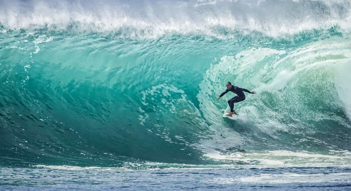 Sea Surfing in Andaman