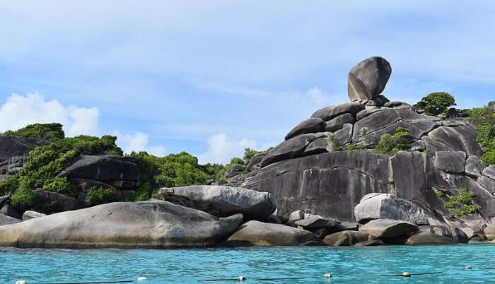 Stunning view of island