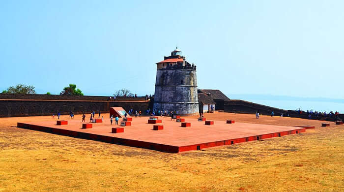 Stunning View Of Fort