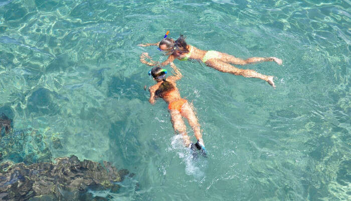 Snorkeling in White Water