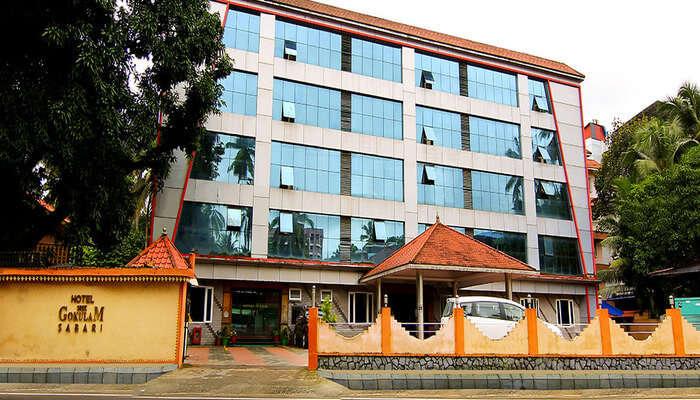 Big Building of Hotel