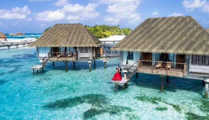 maldives resort view