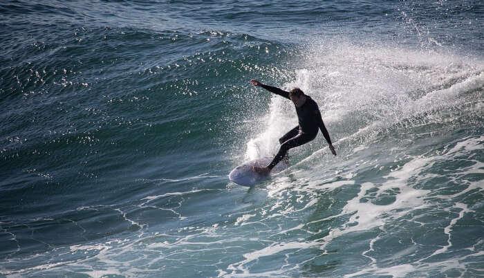 Surfing in White Water