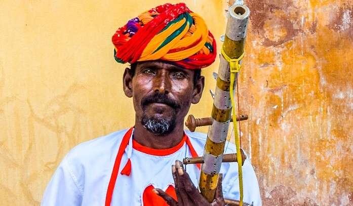 Bundelkhand music at Chanderi