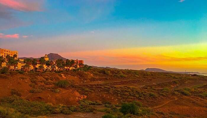 Canary Islands Tenerife Spain Nature Landscape