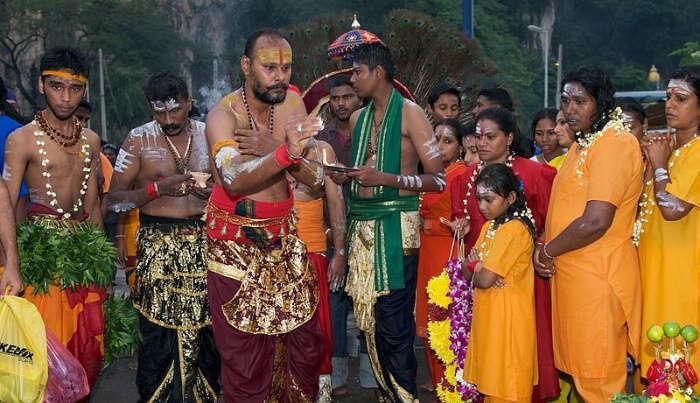 Celebrating Festival