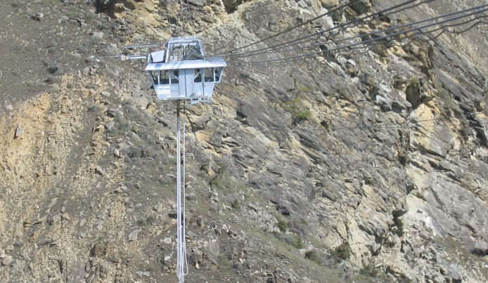 The Nevis Bungee is the highest Bungee in New Zealand